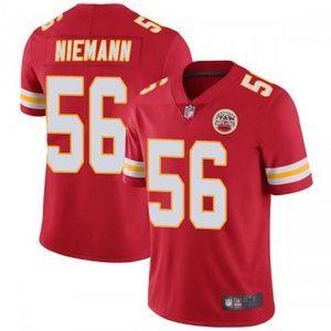 Chiefs Ben Niemann Red Jersey